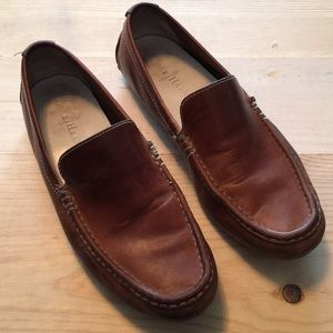 Cole Hahn Brown Leather Driving Shoes Sz 8 1/2 M